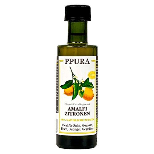 PPURA Olivenöl mit Amalfi-Zitrone (100 ml) - Bio