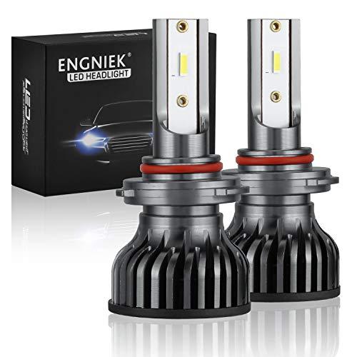 9012 HIR2 LED Headlight Bulbs 9012 LED Conversion Kit for High Low Beam 40W 9800Lm 6000K, Super Bright, Stronger Lighting Pattern, 2 pack