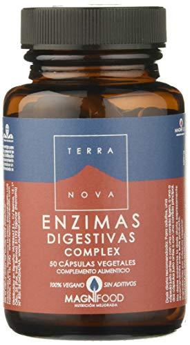 ijsalut - enzimas digestivas complex 50c terra nova 50 capsulas