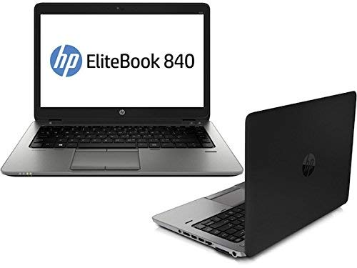 HP ELITEBOOK 840 G2 Intel Core i5-5300U (2.3 GHz), 8GB DDR3L, 128GB SSD, Intel HD Graphics, Windows 10 Pro 64 bit (Renewed)