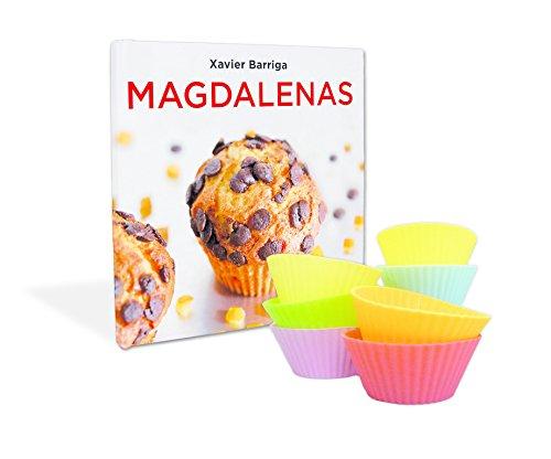 La caja de magdalenas de Xavier Barriga: (Incluye nueve moldes de silicona) (Cocina casera)