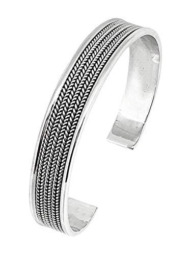 TreasureBay Herren-Armreif Sterling-Silber 925 TBC529