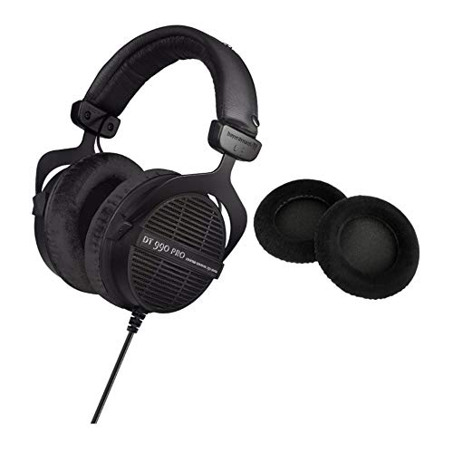 Beyerdynamic DT 990 PRO Studio 250 OHM Headphones (Ninja Black, Limited Edition)...