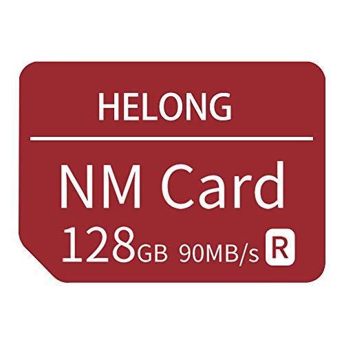 Tarjeta NM Tarjeta de Memoria Nano 128GB hasta 90MB / S para Huawei Mate 40 / Mate 40 Pro / P30 / P40 / P30 Lite