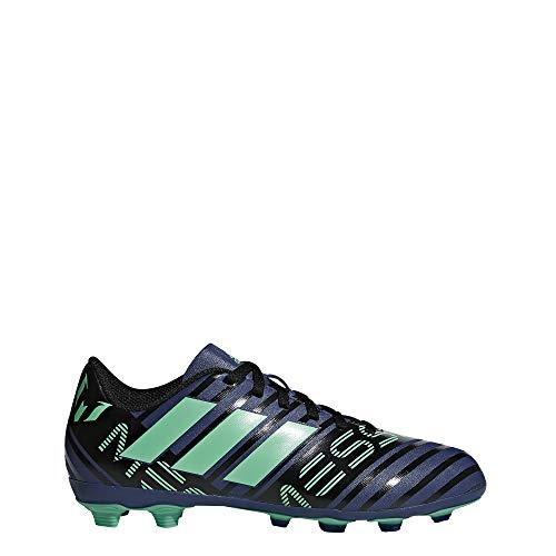 Adidas Nemeziz Messi 17.4 FxG J, Botas de fútbol Unisex Adulto, Multicolor (Tinuni/Vealre/Negbas 000), 38 2/3 EU