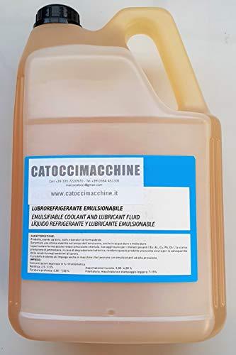 OLIO EMULSIONABILE LUBROREFRIGERANTE SPECIALE PER TAGLIO SUPREME LT. 5 CATOCCIMACCHINE