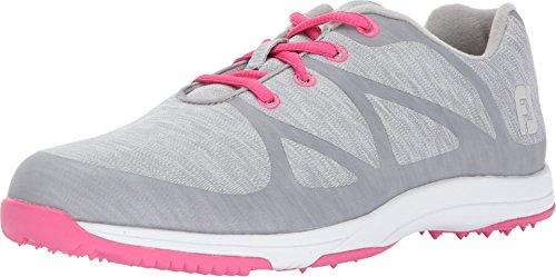 FootJoy FJ Leisure, Zapatillas de Golf para Mujer, Gris (Gris 92903m), 37 EU