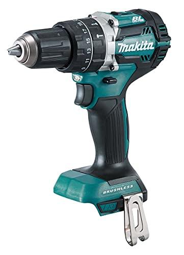 MAKITA DHP484Z 18V Combi Drill BL LXT 72 W, 18 V, Negro, Azul, One size