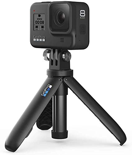 GoPro Hero 8 Action Camera with 2 Total Batteries, Two Sandisk 32GB Extreme MicroSD Cards, GoPro Shorty Tripod, Head… 4 Streamlined design - The reimagined shape is more pocketable, and folding fingers at the base let you swap mounts quickly. A new side door makes changing batteries even faster, and the lens is now 2x more impact resistant. HERO8 Black Mods - Vloggers, pro filmmakers and aspiring creators can do more than ever imagined—with quick-loading accessories like flashes, microphones, LCD screens and more. Just add the optional Media Mod to up yourcapture game. Time Warp 2. 0 - Capture super stabilized time lapse videos while you move through an activity. And now, Time Warp automatically adjusts speed based on motion, scene detection and lighting. You can even slow down the effect to real time—savoring interesting moments—and then tap to speed it back up.