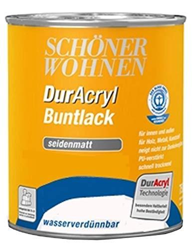 Schöner Wohnen Lack 3x125 375 ml Ral 5010 Enzianblau wasserverdünnbar Bowatex