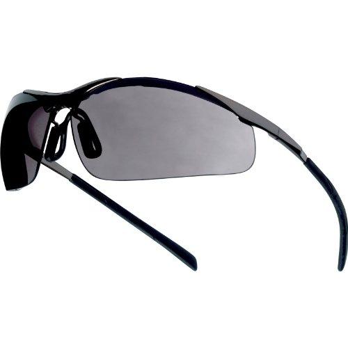 Bolle CONTMPSF - Gafas De Seguridad, Montura De Metal, Cristal Ahumado
