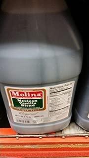 Molina Mexican Vanilla Blend 1 Gal (4 Pack)