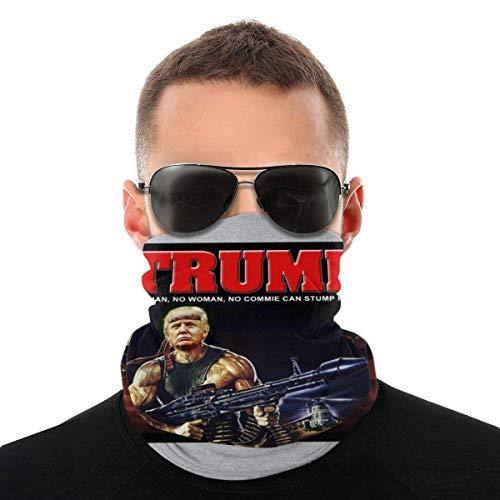 Nother Donald Trump Rambo Muscle Man Vielfalt Kopftuch Gesichtsmaske Kopfbedeckung Hals Gaiter Face Bandana Schal Schal