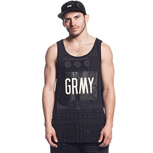 GRIMEY Camiseta Tirantes Fidji Tank Top SS16 Black-S