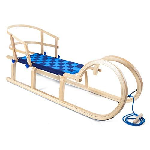 Holzfee Baran 120 G Hönerschliitten Gurtsitz mit Lehne für Kinder