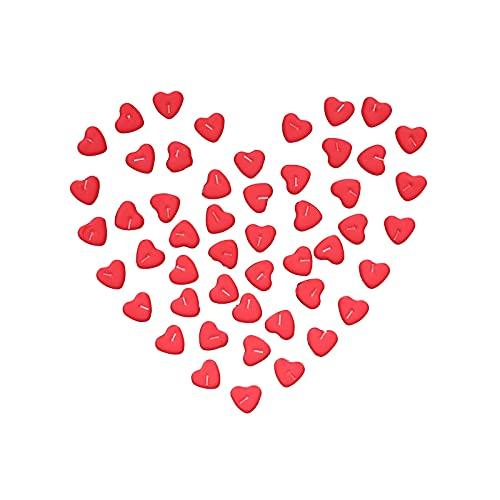 Shanrya Candela Amore Romantico, Candela Decorazione Candele A Forma di Cuore per Feste per Matrimonio per Compleanno