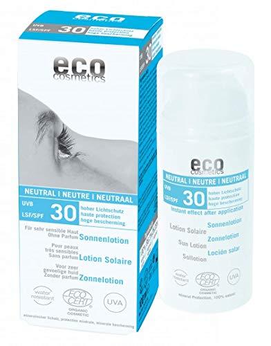 Crème solaire corps neutre F30 100 ml de Eco Cosmetics