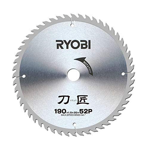 京セラ(リョービ) 刀匠チップソー(S23) 190mm×52P (4911602)