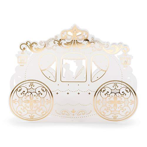 Unbekannt Weddingstar 4708-55 Cinderella Hochzeitskutsche