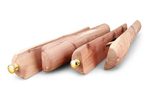 Langer & Messmer Stiefelspanner aus Zedernholz für Damen und Herren