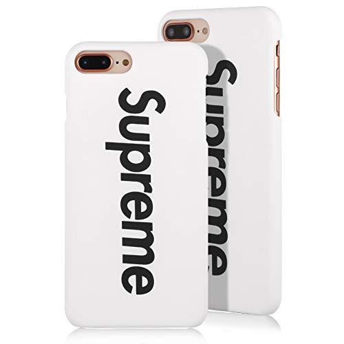 SUP PC Case [ Compatible con Apple iPhone 7/8 Plus, Blanco ] Adecuado en el diseño, Cubierta Protectora - Cubierta Dura Mate Fina - Cubierta Ultra-Delgada