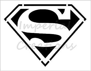 SUPERMAN S Logo Superhero Comic Cartoon 8.5