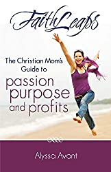 woman leaping at beach, faith leaps book cover