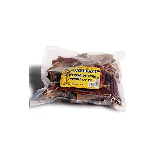 HobbitAlf nervio de toro puntas 200 grs. natural para perros