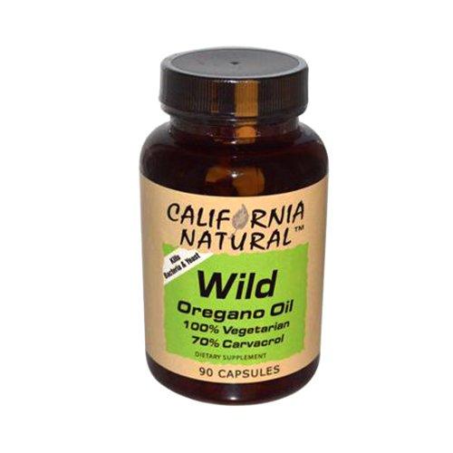 California Natural Wild Oregana Oil Capsules, 90 Count
