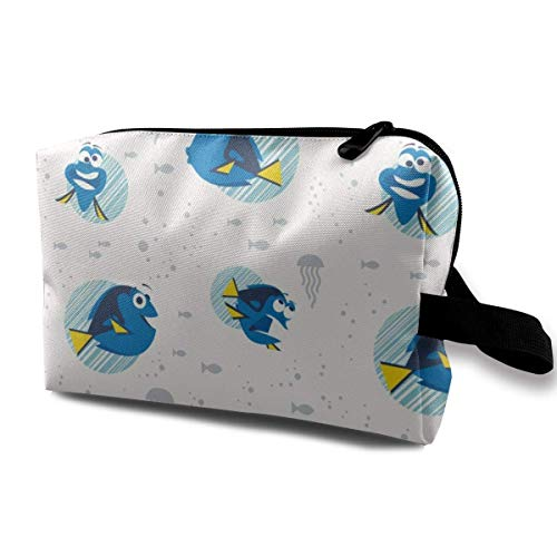 Finding Dory Dot White Receive Bag Capacity Bags Hand Travel Wash Bag