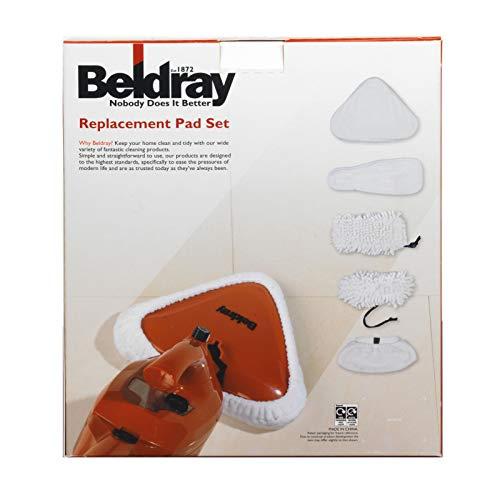 Beldray BEL0234 Replacement Microfiber Pad Set for BEL0291
