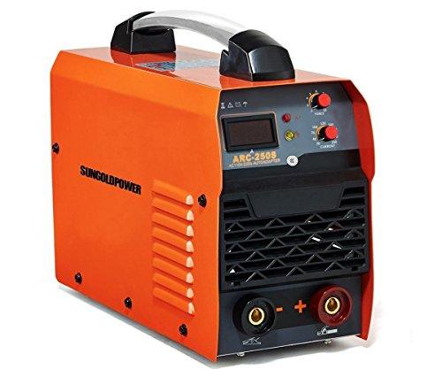 SUNGOLDPOWER ARC MMA 250A Welder Dual 110V 220V IGBT Hot Start Welding Machine DC Inverter Welder 250 AMP LCD Anti-Stick