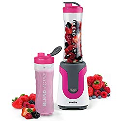 Make healthy, delicious smoothies, frozen juices, protein drinks and more; ideal for school, days out, work or the gym Just blend & go: one-touch blending action delivers perfect results in seconds; a quick and easy way to your 5-a-day Powerful 300-w...