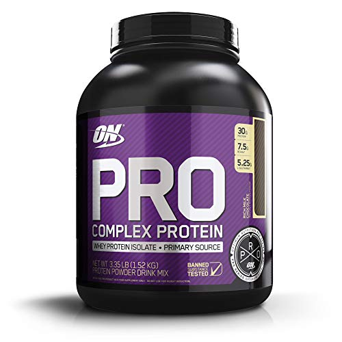 OPTIMUM NUTRITION Pro Complex Whey Protein Powder Blend, Rich Milk Chocolate, 3.35 lbs (Packaging May Vary)