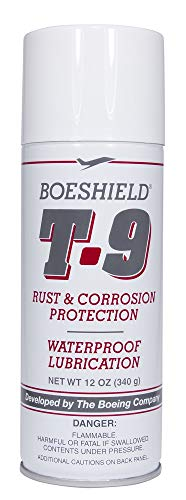 BOESHIELD T-9 Rust & Corrosion Protection/Inhibitor and Waterproof Lubrication, 12 oz. (Best Petrol Additive In India)