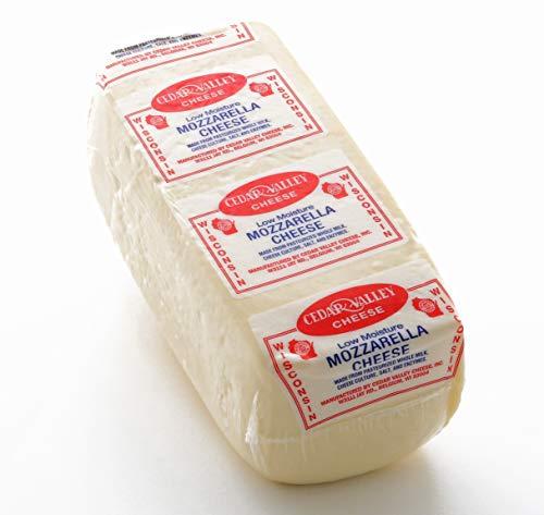 Mozzarella Cheese Whole Milk Low-Moisture 6 Lb Loaf