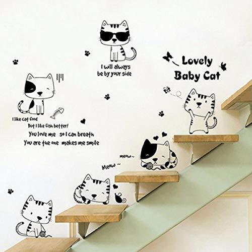 Jkxiansheng Adesivi Murali Gatto Per Bambini Adorabili Per Camerette Per Ragazzi, Camerette, Camerette Per Bambini, Camerette Per Bambini