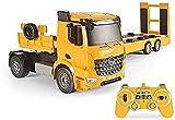 LGLSG Remote Control and Dumper, Truck, Car Engine Sound, Complete Set Including The Development of Remote Control Trailer Gift Boys