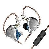 KZ ZS10 Pro Auriculares intrauditivos 4BA + 1DD Híbrido 10 Unidades Auriculares con Bajos de Alta f...