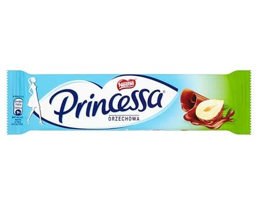 """Nestle Nestlé """"Princessa"""" Waffelriegel Haselnussgeschmack, 28 Stück, 28er Pack (28 x 3.92857142857143 g)"""