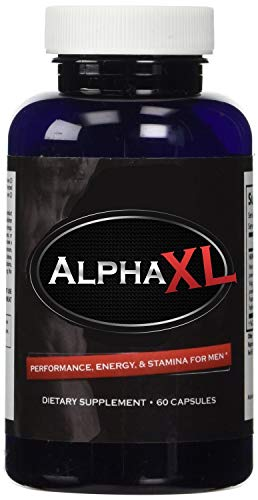 Alpha XL -  Most Potent Powerful Male Supplement Pills Ideal For Men All Natural Clinically Proven Ingredients with Horny Goat Weed Yohimbe Maca and Saw Palmetto