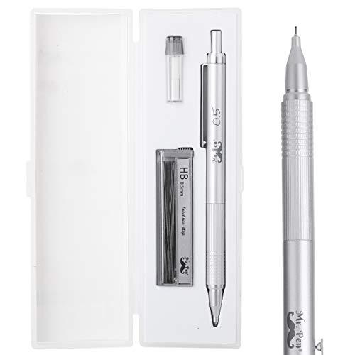Mr. Pen- Mechanical Pencils 0.5, Metal Mechanical Pencils, Drawing Mechanical Pencils, Mechanical Pencils for Artists, Sketching Mechanical Pencils, Lead Pencil, Mechanical Drawing Pencils