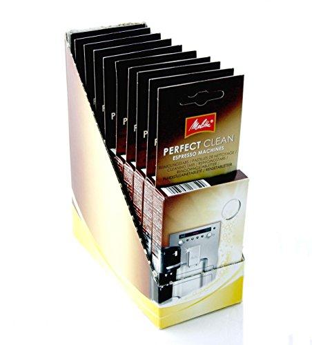 Melitta 947492 tablettes de nettoyage pour machine à expresso