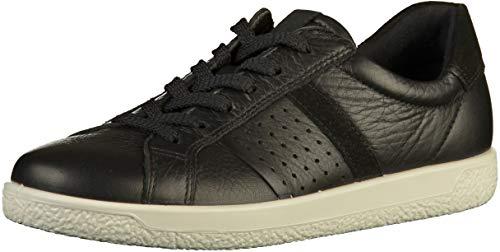 ECCO Damen Soft 1 Ladies Sneaker, Schwarz (Black/Black 51052), 40 EU