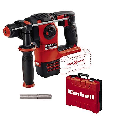 Einhell Akku-Bohrhammer HEROCCO Power X-Change (Li-Ion, 18 V, 2.2 Joule, 18 Nm, bürstenloser Motor, pneumatisches Schlagwerk, SDS+ Werkzeugaufnahme, inkl. E-Box, ohne Akku und Ladegerät)