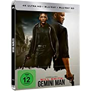 Gemini Man - 3D Blu-ray - Bluray - UHD - Steelbook [Limited Edition](exklusiv bei Amazon.de)