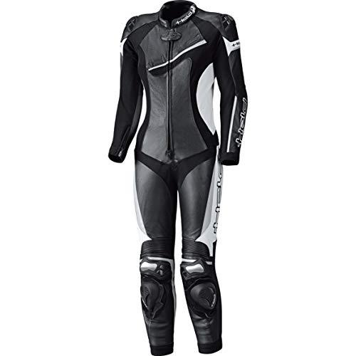Held Lederkombi mit Protektoren Motorradkombi 1 Teiler Ayana II Damen Lederkombi 1-TLG. schwarz/weiß 36, Sportler, Ganzjährig