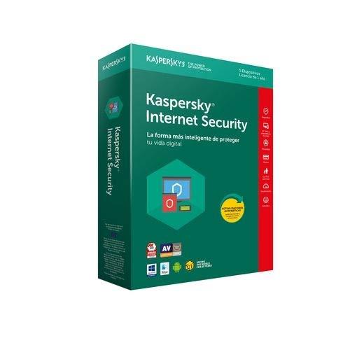 Kaspersky Lab 2018 - Antivirus Internet Security, Español, Full License, 4 Licencias, 1 Año