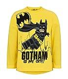 Lego Batman 2251 T-Shirt, Giallo Jaune, 8 Anni Bambino