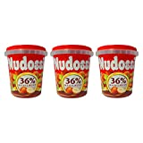 3er Pack Nudossi Nougat Aufstrich (3 x 200 g) Haselnuss-Nougat-Creme, Süßer Aufstrich